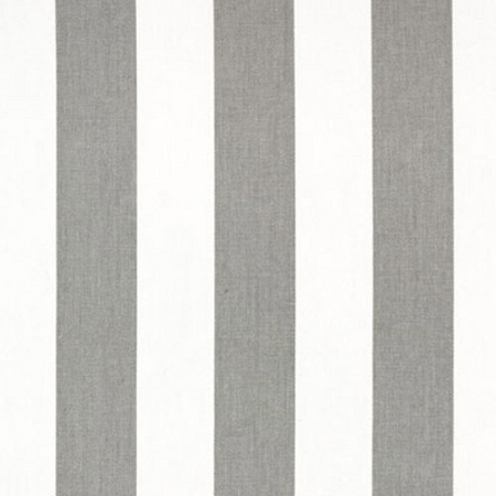 Gray and White Striped Fabric | Canopy Storm Twill