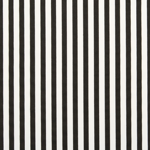 Stripe Fabric | Premier Prints Basic Stripe Black Twill