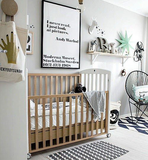 Black And White Crib Bedding Black And White Nursery