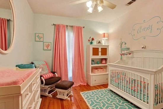 We Love To Share Pictures Of Our Customer S Nurseries This Adorable Nursery Features Top Ing My Baby Sam Pixie In Aqua Crib Bedding