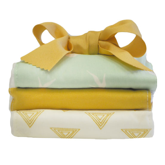 Gold & Mint Burp Cloth Set | Buck Forest in Mint Collection