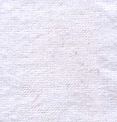 White Flannel Fabric