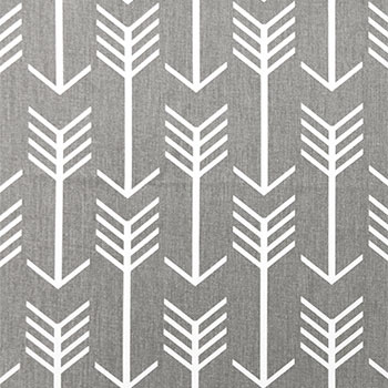 Arrow Fabric in Grey from Premier Prints