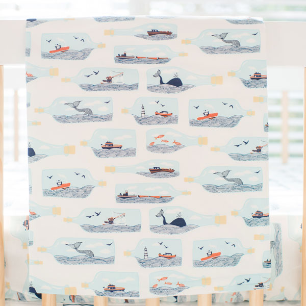 Nautical Baby Blanket | Hook Line & Sinker Collection