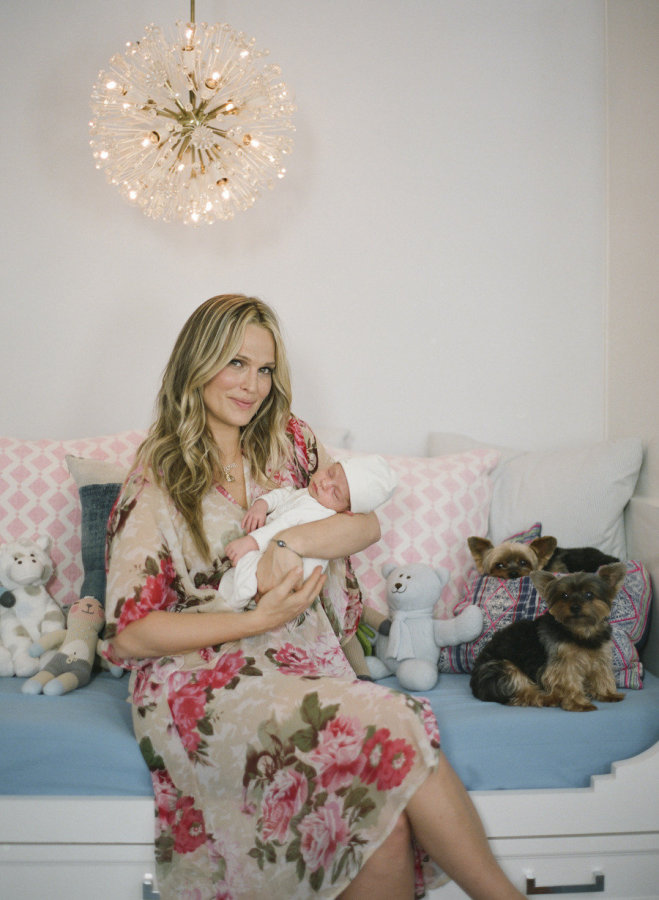 molly sims and baby brook