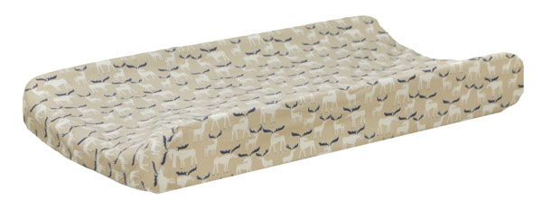 Woodland Changing Pad Cover | Moose Trail Crib Collection