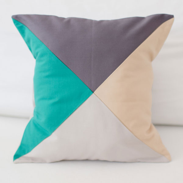 Color Block Pillow | Animal Parade Crib Collection