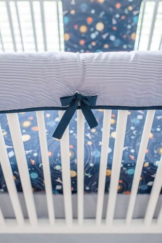 Outer Space Baby Bedding Blue Moon Nursery Space Crib