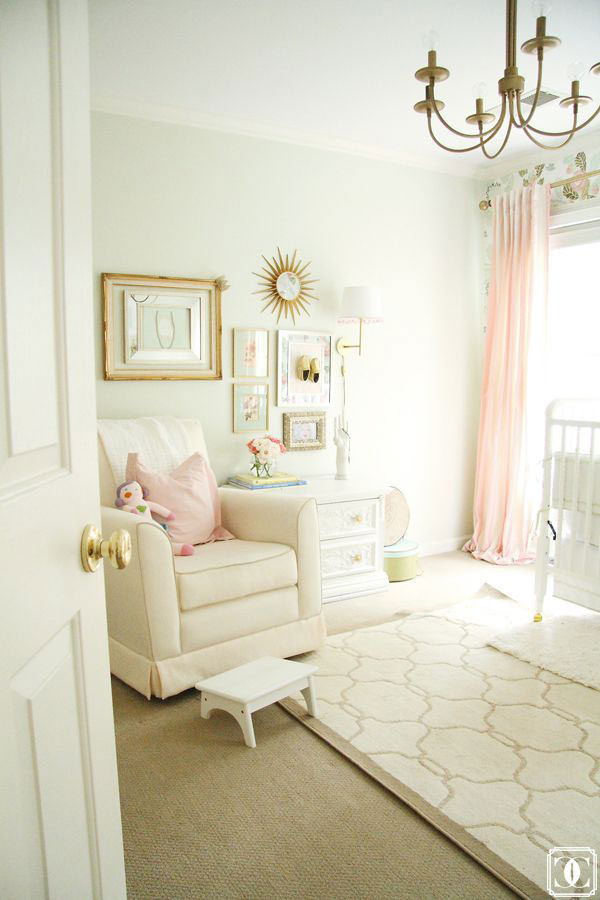 Pink And Gold Crib Bedding Inspiration