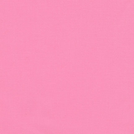 Pink Fabric | Robert Kaufman Kona Cotton Carnation Solid