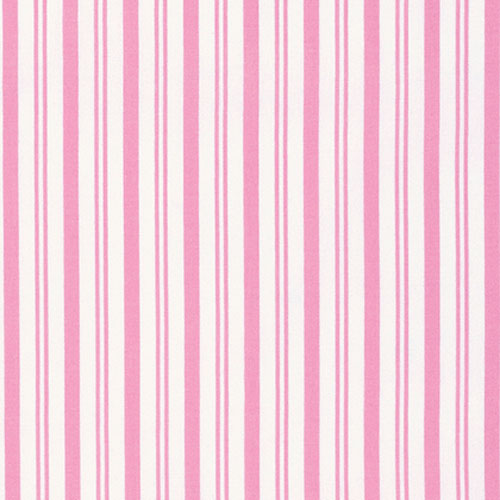Tanya Whelan Sadie's Dance Card Stripe Pink Fabric