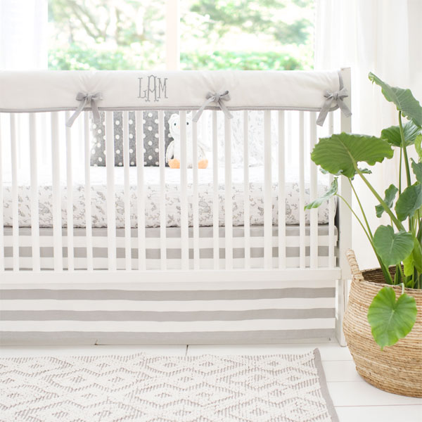 Woodland Crib Rail Guard Set | Small Wonders Collection
