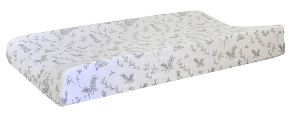 Woodland Muslin Changing Pad Cover | Small Wonders Collection
