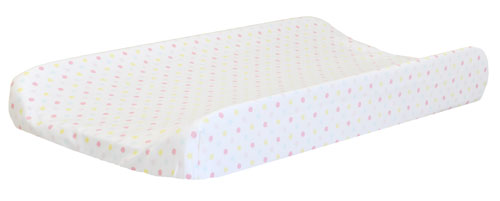Multi Polka Dot Changing Pad Cover