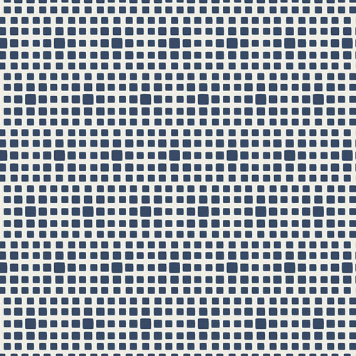 Navy Fabric | Art Gallery Squared Elements Navy