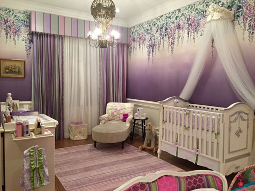 This Enchanting Nursery Is The Epitome Of Pure Magic Includes Our Sweet Violet Crib Collection And We Are Obsessed With Masterpiece