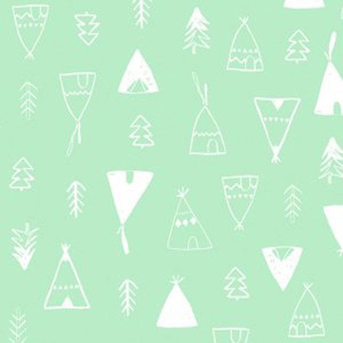 Green & Mint Fabric