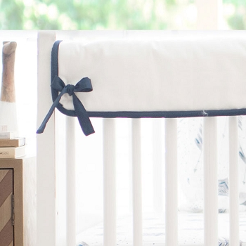 Short Side Crib Rail Guard | Aim High Crib Collection