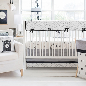 Little Black Bear Crib Collection by My Baby Sam