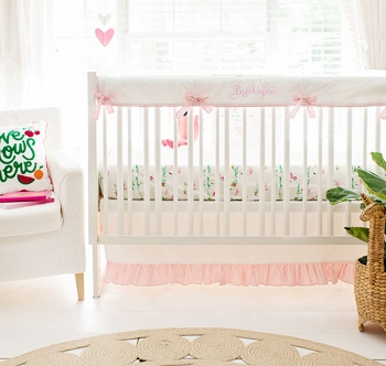 Flamingo Crib Bedding | Flamingo Island Baby Bedding Crib Collection