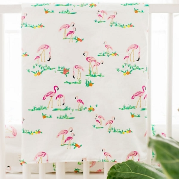 Flamingo Baby Blanket | Flamingo Island Bedding Collection