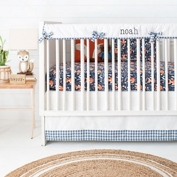 Fox Crib Bedding | Fox Trot Collection