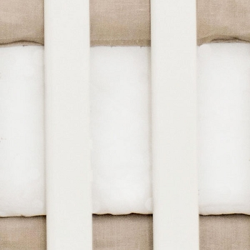 Ivory Crib Sheet | Washed Linen in Flax Collection