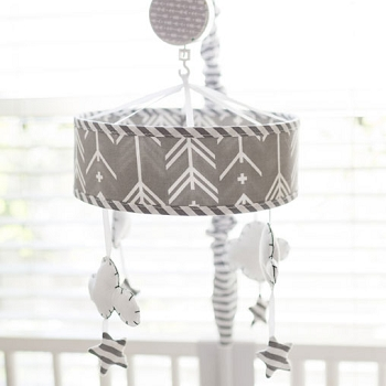 Cloud and Stars Baby Mobile | Little Adventurer Collection