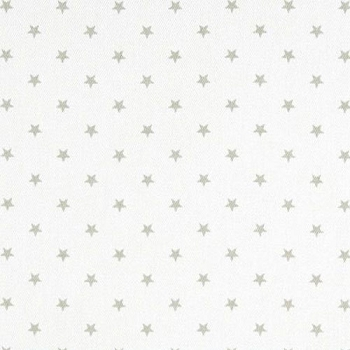 Gray Fabric | Premier Prints Mini Star White/Grey Twill