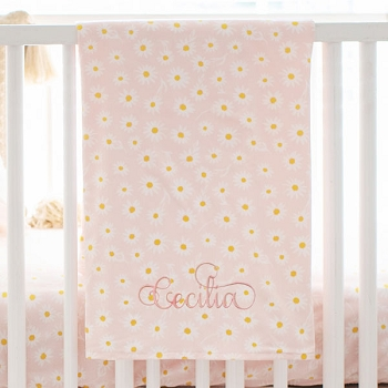Flower Baby Blanket | Morning Glory Collection