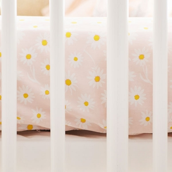 Flower Crib Sheet | Morning Glory Collection