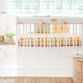 Plaid Crib Bedding | Picnic Collection