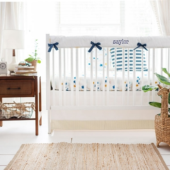 Beach Crib Bedding | Sun Kissed Crib Collection