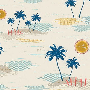 Art Gallery Fabrics Sun Kissed Beach Fabric