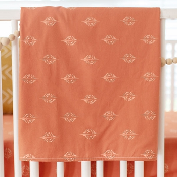 Boho Baby Blanket | Sunrise in Clay Collection
