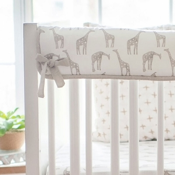 Short Side Crib Rail Guard | Wild Safari Collection