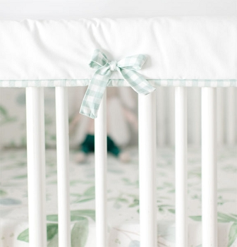 Crib Guard Rail Cover | Willow Collection