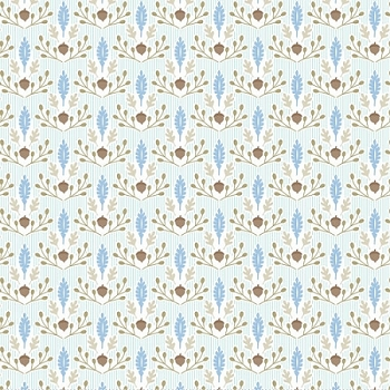 Blue Fabric | Ana Davis by Blend Born  Wild Little Acorn Blue