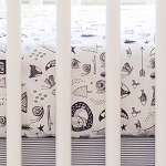 Forest Dreaming Woodland Crib Sheet | Adventure Awaits Collection