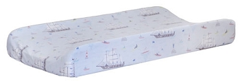 Nautical Changing Pad Cover | Ahoy Matey Crib Collection