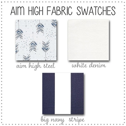 Aim High Collection Fabric Swatches Only