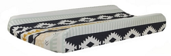 Aztec Changing Pad Cover | Arid Horizon Crib Collection