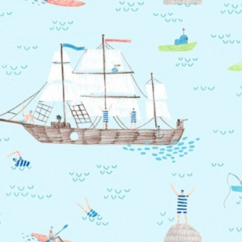 Nautical Fabric | Dear Stella Designs Ahoy Matey Aruba