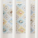Blue Patchwork Crib Sheet | Born Wild in Blue Collection