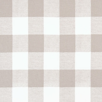 Khaki Buffalo Check Plaid Fabric