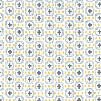 Michael Miller Fabrics Weave the People Citron
