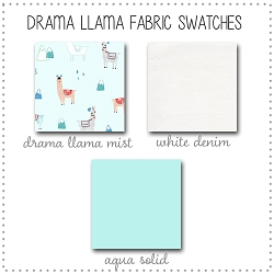 Drama Llama Collection Fabric Swatches Only