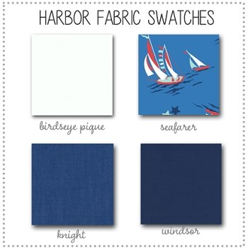 Harbor Crib Collection Fabric Swatches Only