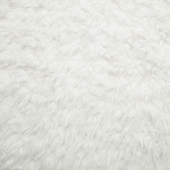 Plush White Cuddle Fabric | Shannon Fabrics LLAMC Llama Cuddle White