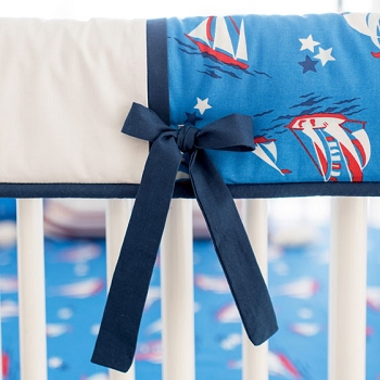 Nautical Rail Guard Only | Harbor Crib Collection
